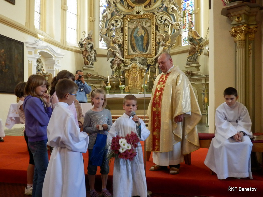 děkovná mše svatá