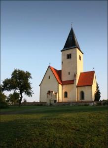 Mše s posvěcením dopravních prostředků @ Chvojen, kostel sv. Jakuba | Benešov | Středočeský kraj | Česko