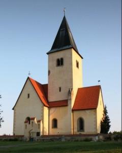 kostel Chvojen