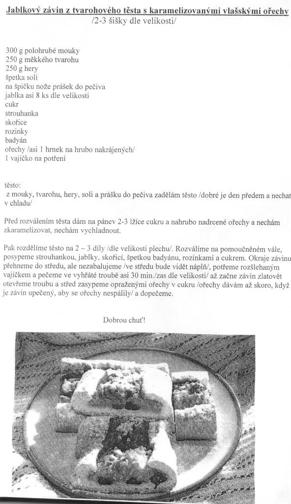recept na štrůdl