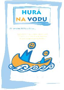 20150627 Hura na vodu - plakat