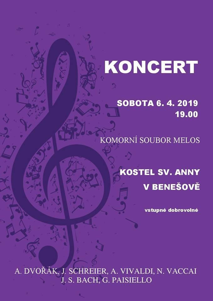 Koncert komorního souboru Melos @ kostel sv. Anny | Benešov | Středočeský kraj | Česká republika