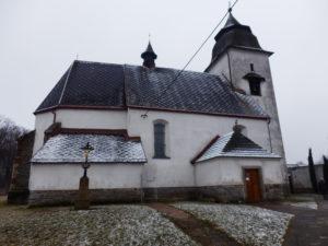 Číhošť, kostel Nanebevzetí Panny Marie