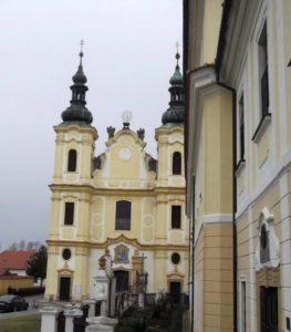 Piaristický kostel Panny Marie Nanebevzaté ve Strážnici vroce 2013