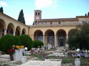 největší římský hřbitov Campo Verano
